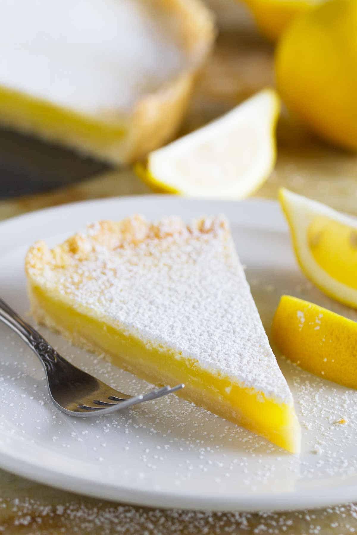 Shortbread Lemon Tart Recipe Taste And Tell