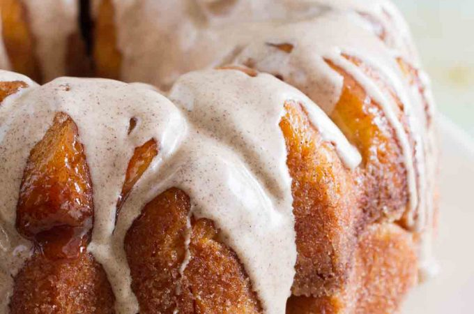 You can't beat a classic, and this Beginner's Cinnamon Pull-Apart Bread is made from scratch and oh, so good!! Don't skip the cinnamon glaze - you'll be licking it from your fingers!