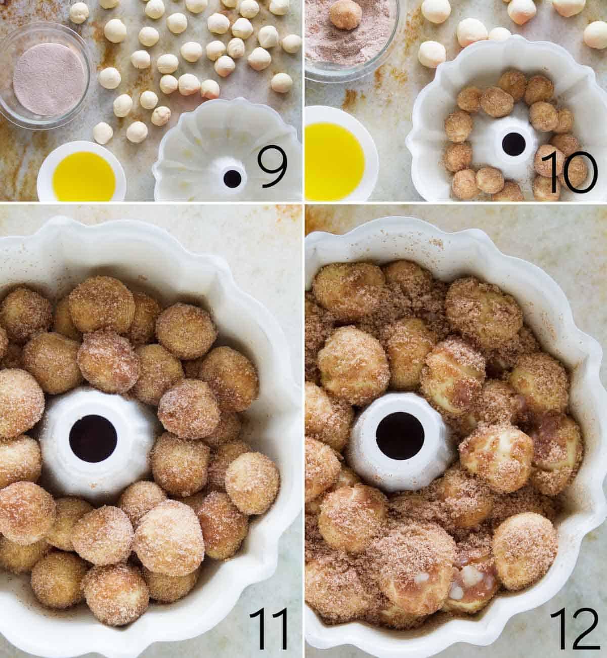 steps to make monkey bread