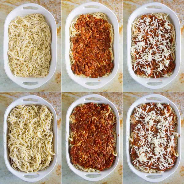 Love lasagna, but love the ease of spaghetti even more? You'll go crazy for this Spaghetti Lasagna - the perfect comfort food for a cold night!