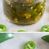 Sweet and spicy and incredibly addictive - you'll never want to go back to a normal pickled jalapeño after trying these Candied Jalapeños.