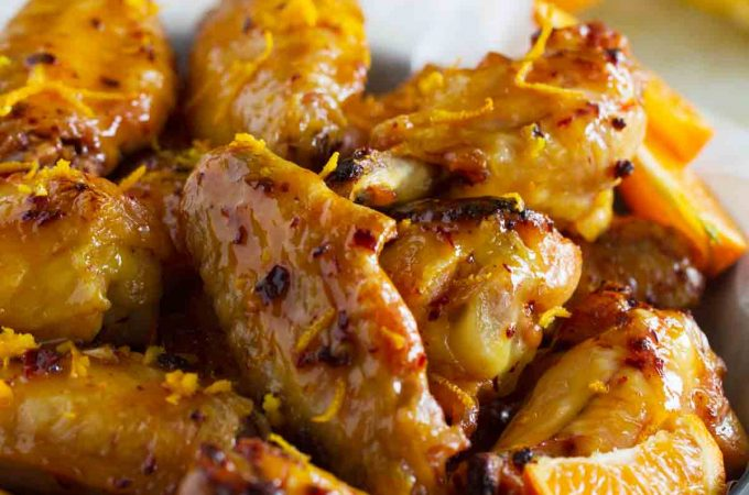 A little bit sweet, a little bit spicy, and all kinds of delicious, these Chipotle Orange Chicken Wings are good for so much more than just game day!