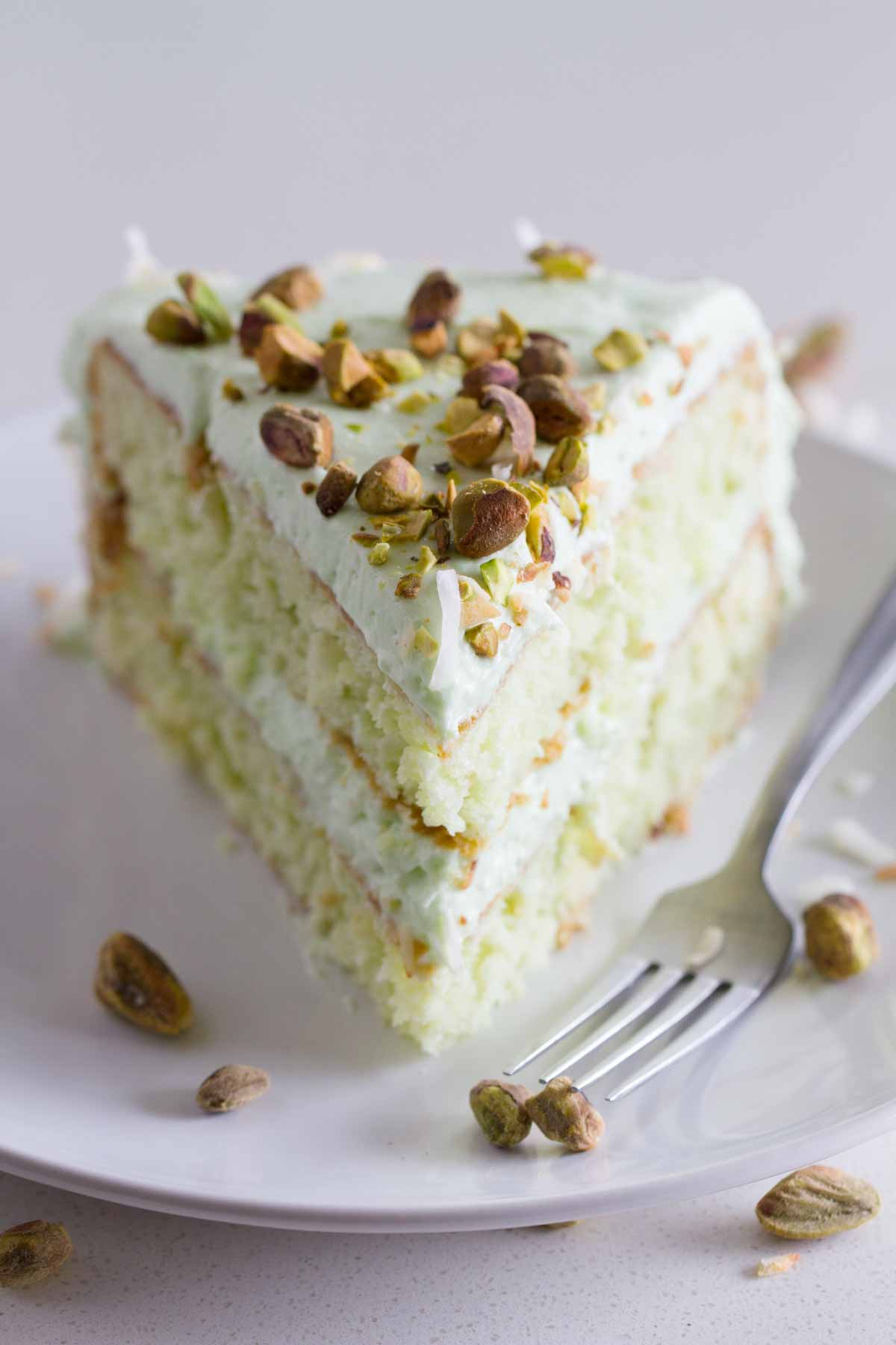 Coconut And Pistachio Pudding Cake Recipe Taste And Tell
