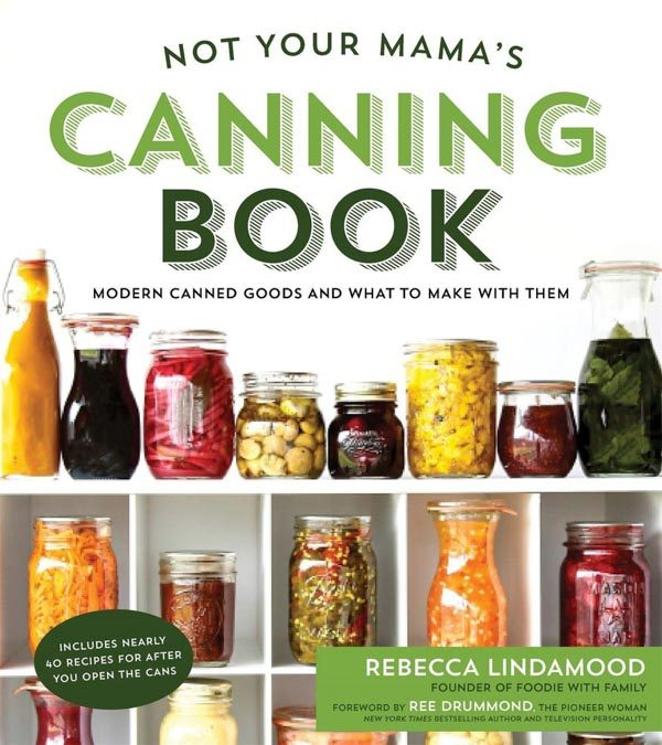 A review of Not Your Mama's Canning Book plus a recipe for Candied Jalapeos.