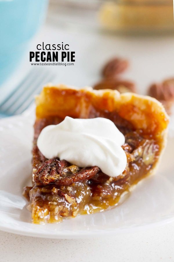 Slice of Classic Pecan Pie