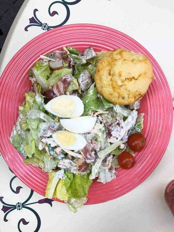 New Orleans Salad at French Market - Disneyland