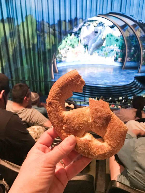 Cream Cheese Pretzel at Disney California Adventure