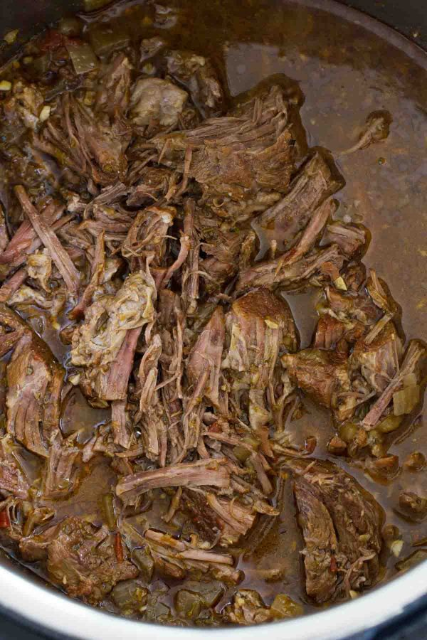 Barbacoa recipe in the Instant Pot