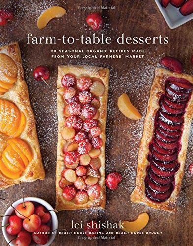A review of Farm-to-Table Desserts plus a recipe for Fresh Blueberry Crisp.