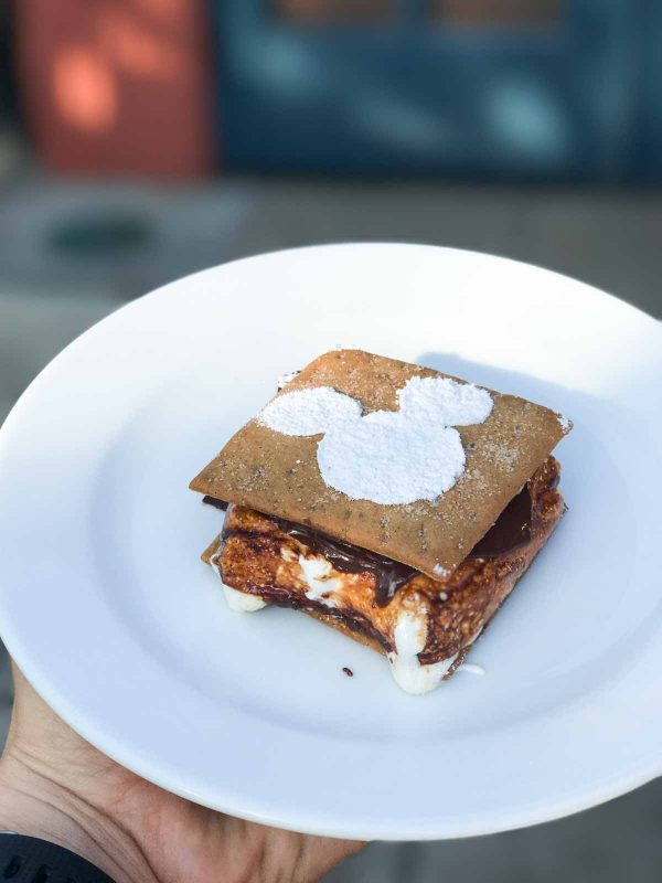 Gingerbread S'mores - 2017 Holiday Preview at Disney World
