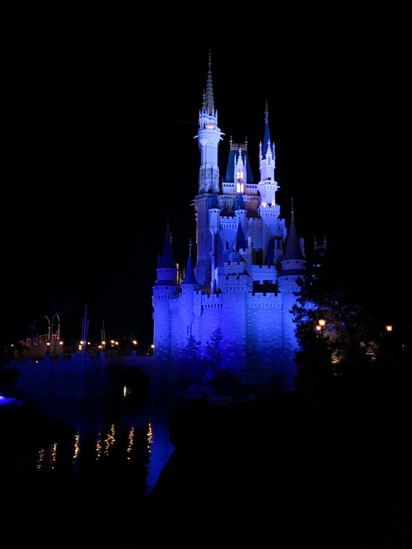 Cinderella's Castle at night - Magic Kingdom Disney World