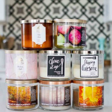 Dishing on my favorite fall candles from Bath and Body Works 2017