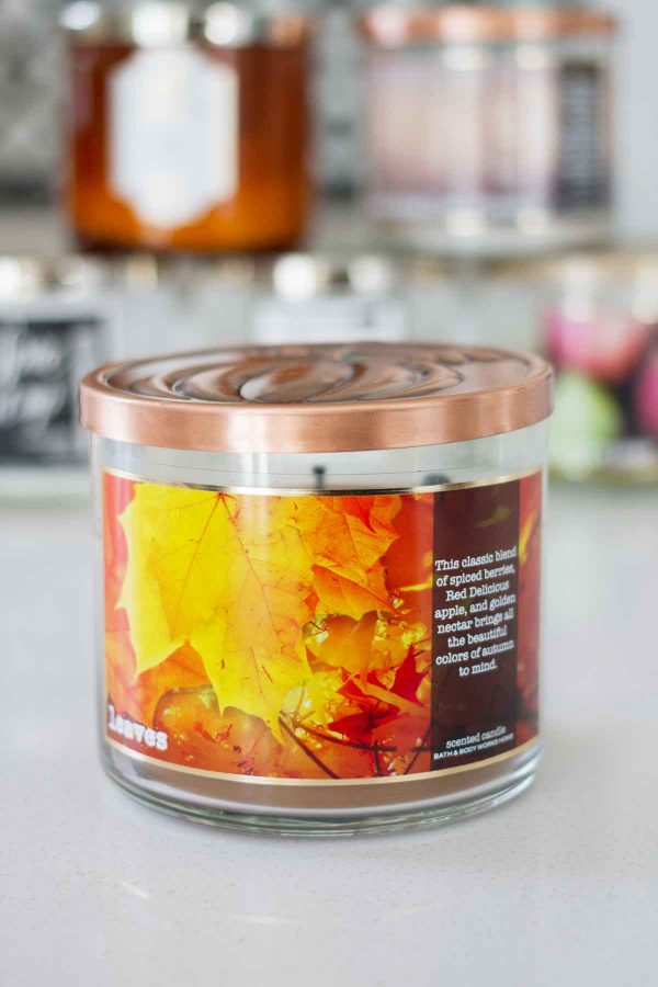 Dishing on my favorite fall candles from Bath and Body Works 2017 - Leaves