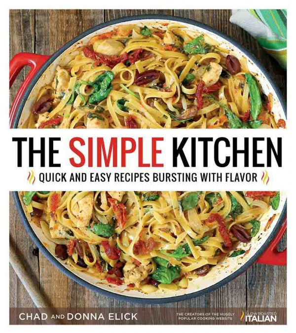 A review of The Simple Kitchen Cookbook and a recipe for Meatball Parmesan Skillet.