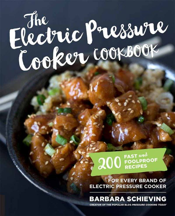 A review of the Electric Pressure Cooker Cookbook and recipe for Pressure Cooker Cashew Chicken