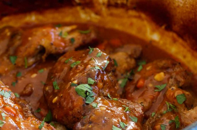Braised Country Style Ribs