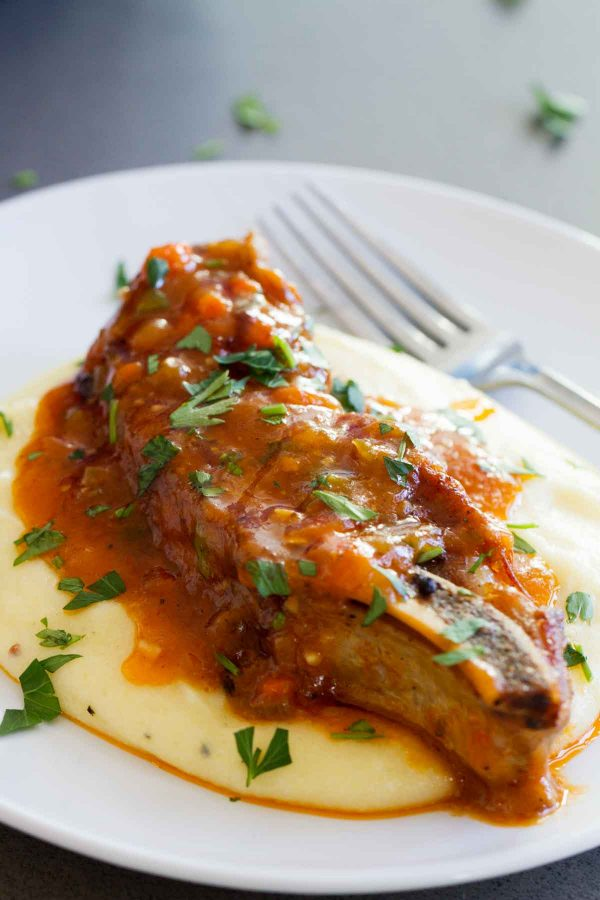 Tender and full of flavor, this Braised Country Style Ribs Recipe is the perfect Sunday supper. They make the perfect comforting dinner for any cold night.