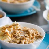 Peanut Butter, Coconut and Banana Oatmeal recipe