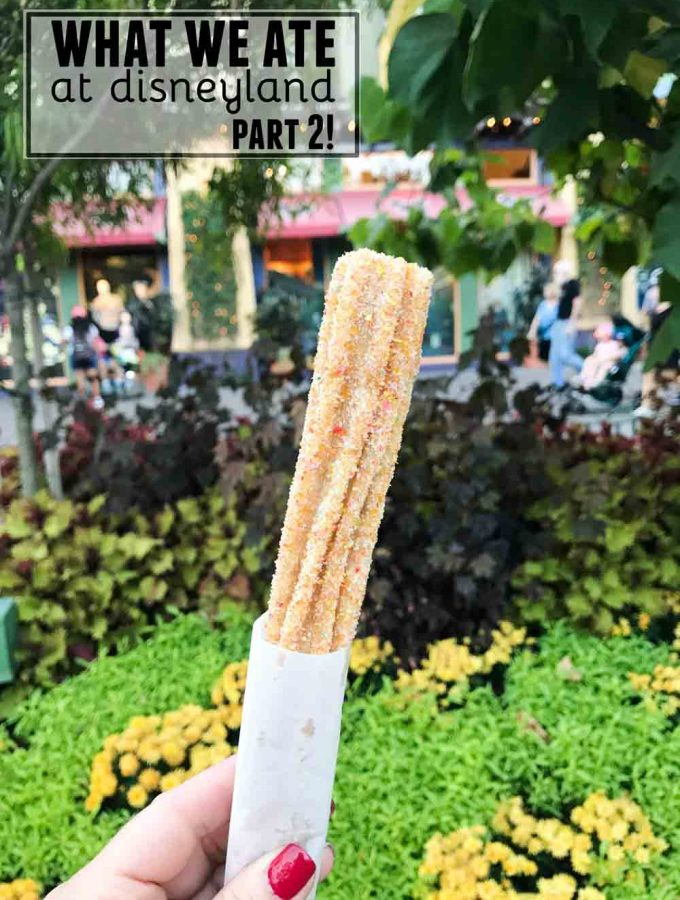 What We Ate at Disneyland - Part 2. Sweet, savory - and my recommendations for what to eat at Disneyland!