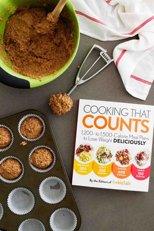 Cooking That Counts cookbook plus Whole Wheat Bran Muffins