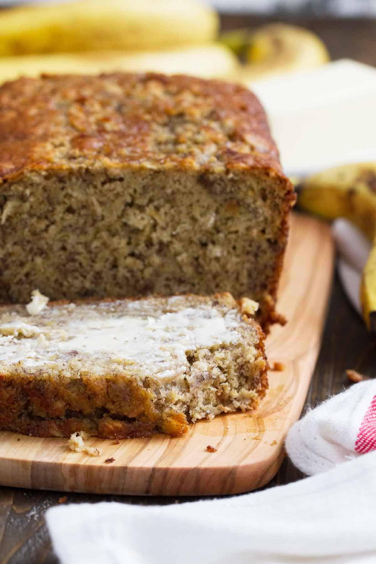 Banana Oat Bread Taste And Tell