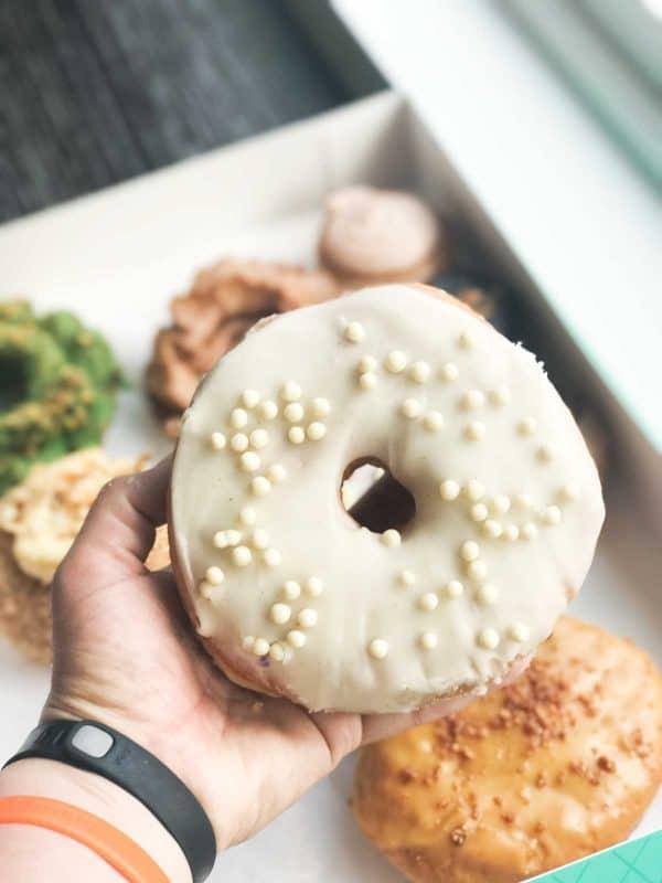 Tahitian Vanilla Iced donut from Firecakes Donuts - Chicago, IL