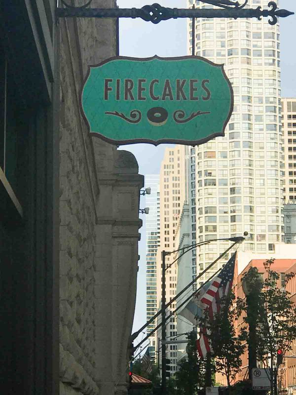 Outside of Firecakes Donuts - Chicago, IL