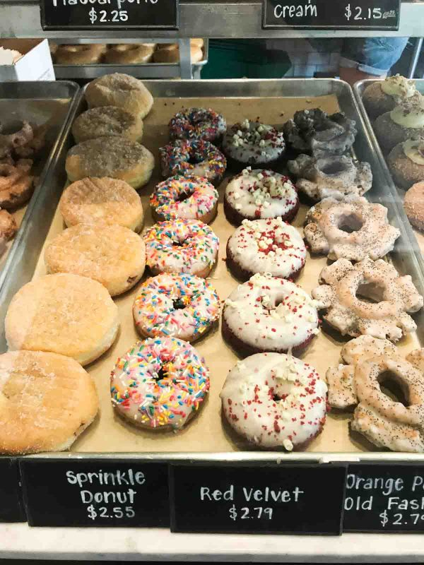 Assorted donuts from Firecakes Donuts in Chicago, IL