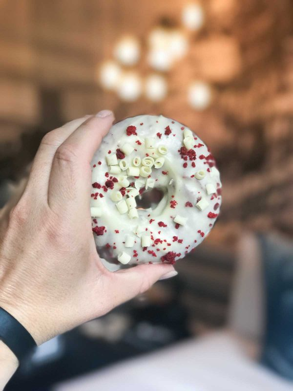 Red Velvet Donut from Firecakes Donuts - Chicago, IL