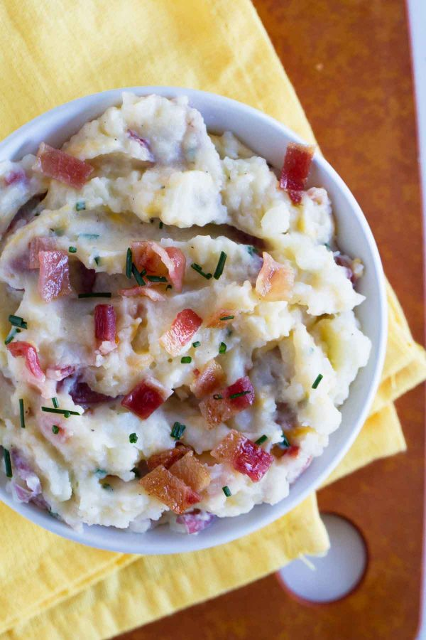 Easy and flavorful side dish - Mashed Potato Skin Recipe