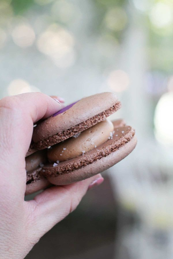 Salted Caramel Macaron from Jolly Holiday Bakery - Disneyland