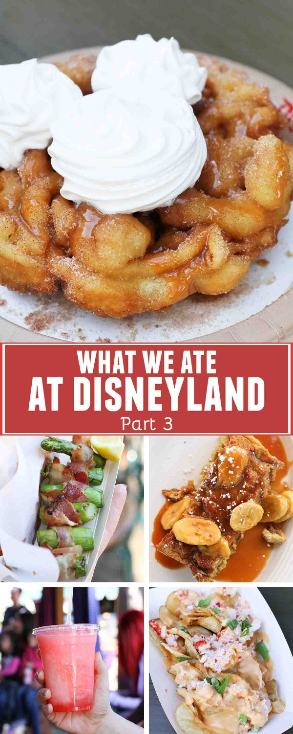 What We Ate at Disneyland Part 3 collage