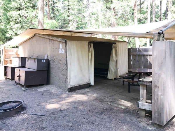 Housekeeping Camp at Yosemite National Park