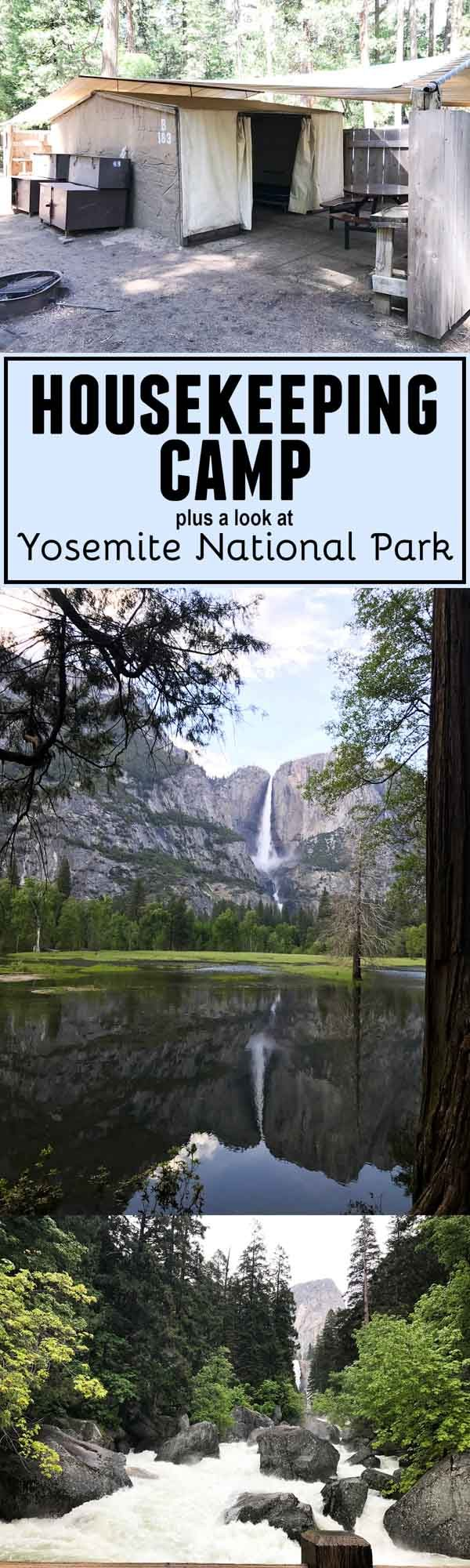 A look at Housekeeping Camp at Yosemite National Park - the good and the bad. Plus what to see and do at Yosemite National Park (even with kids!)
