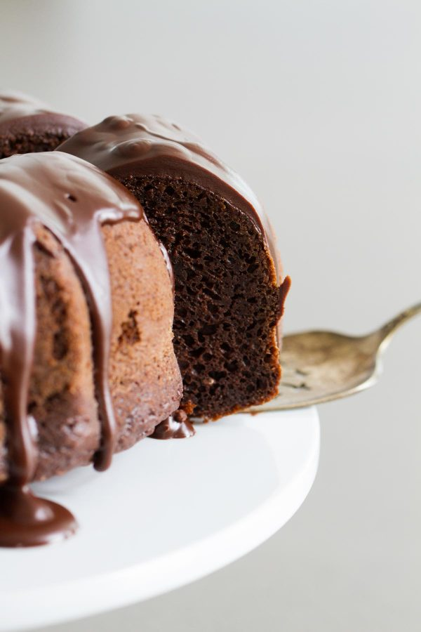 Cake Mix Chocolate bundt cake