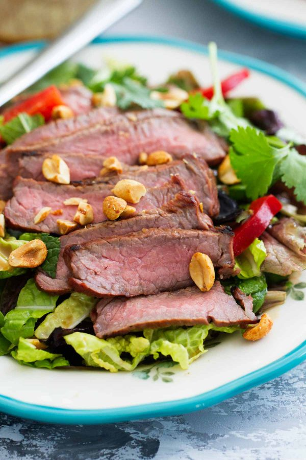 How to make a grilled Thai Steak Salad