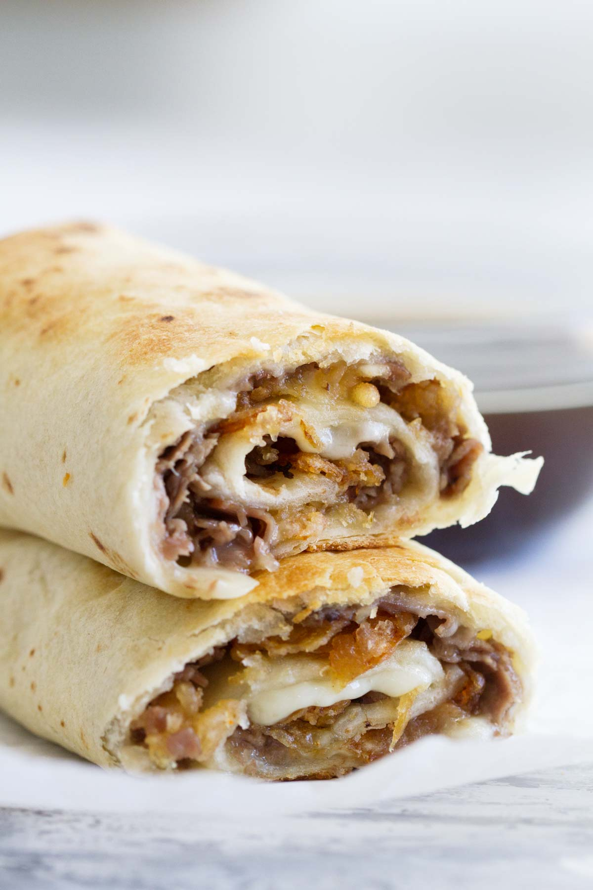French Dip Tortilla Roll Ups Easy Summer Dinner Idea Taste And Tell