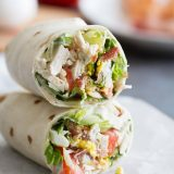 Chicken Cobb Salad Wraps