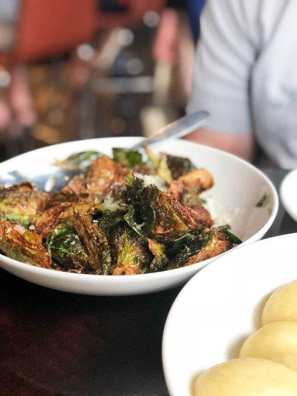 Crispy Brussels Sprouts from Guard and Grace in Denver CO
