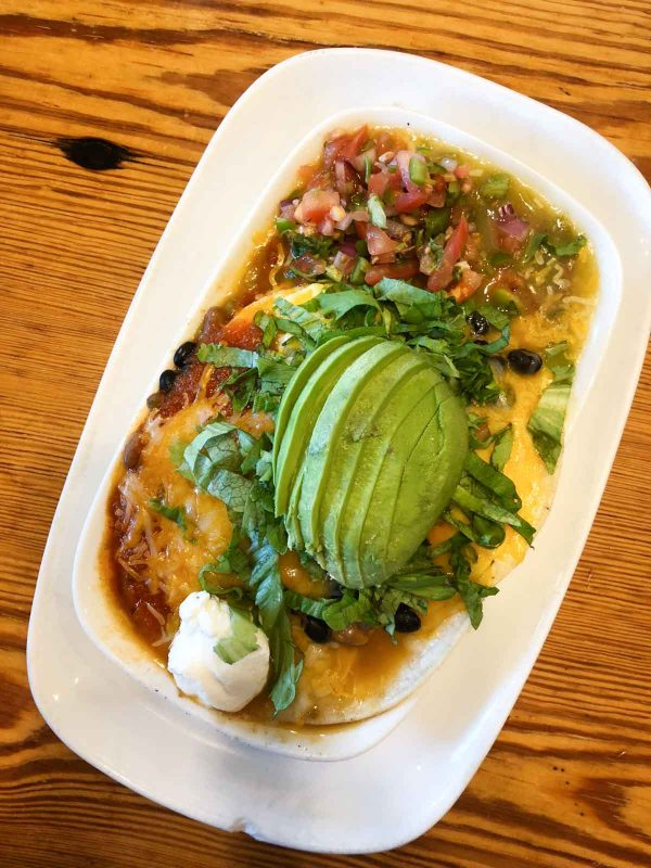 Huevos Rancheros from Northside Kitchen