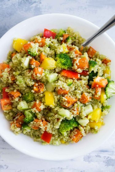 Quinoa and Roasted Sweet Potato Salad