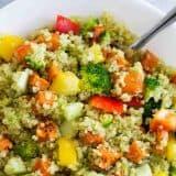 How to make Quinoa and Roasted Sweet Potato Salad