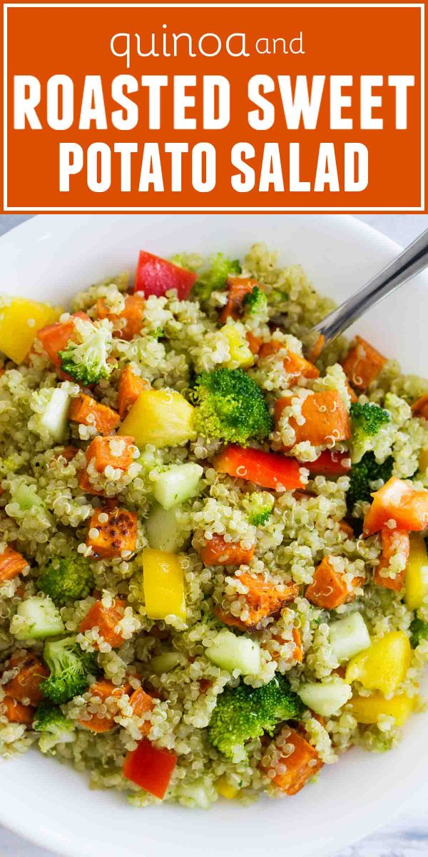 How to make Quinoa and Roasted Sweet Potato Salad