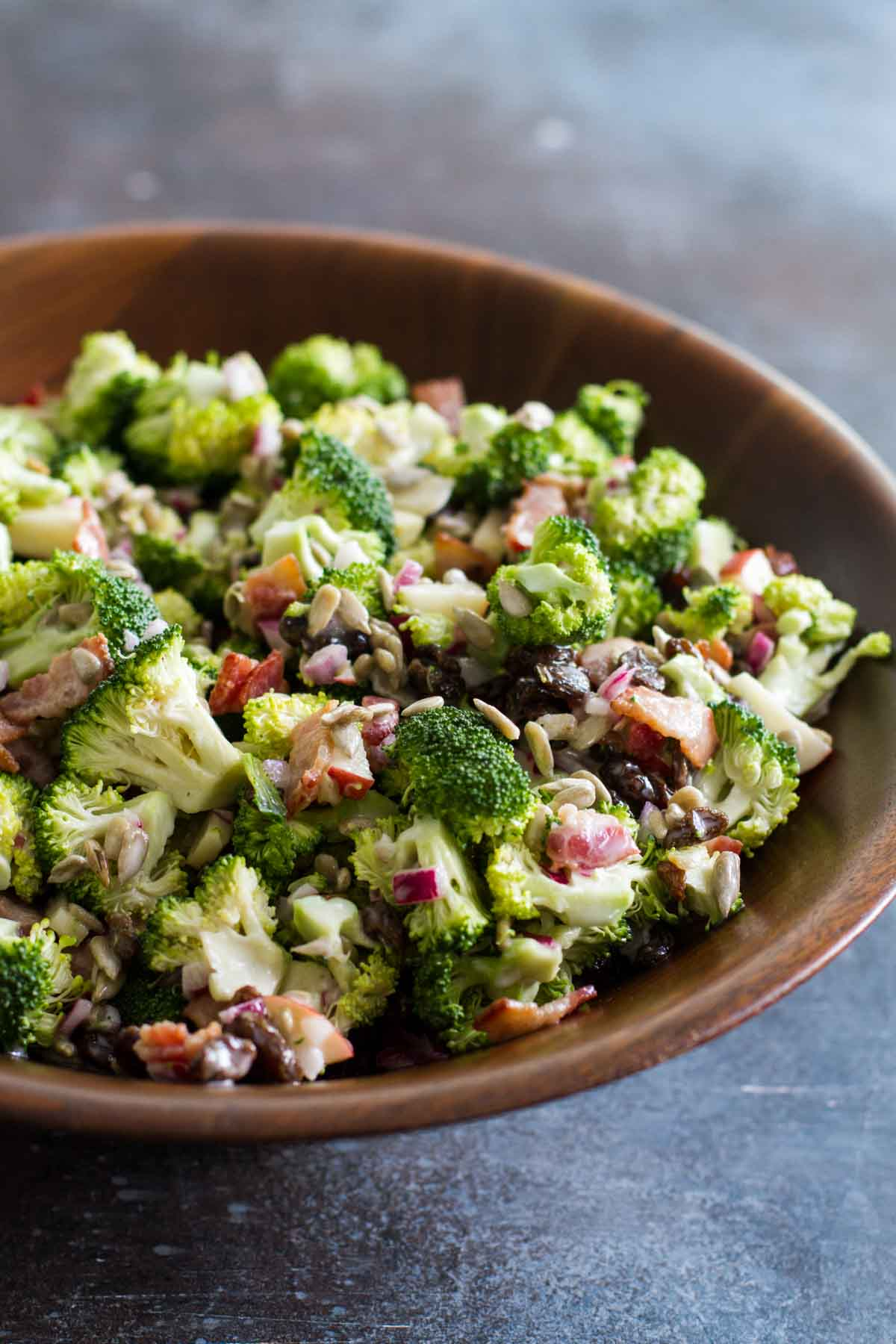 Classic Broccoli Salad Recipe With Bacon Taste And Tell