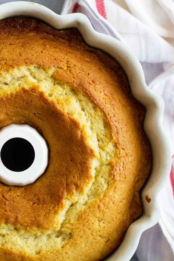 Buttermilk Cake in a Bundt Pan
