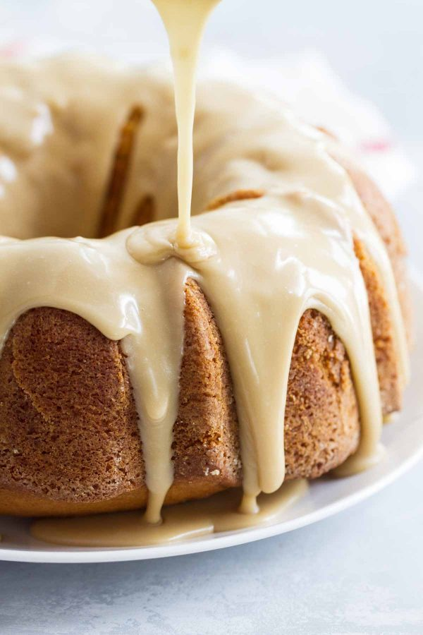 Caramel Icing for Buttermilk Pound Cake