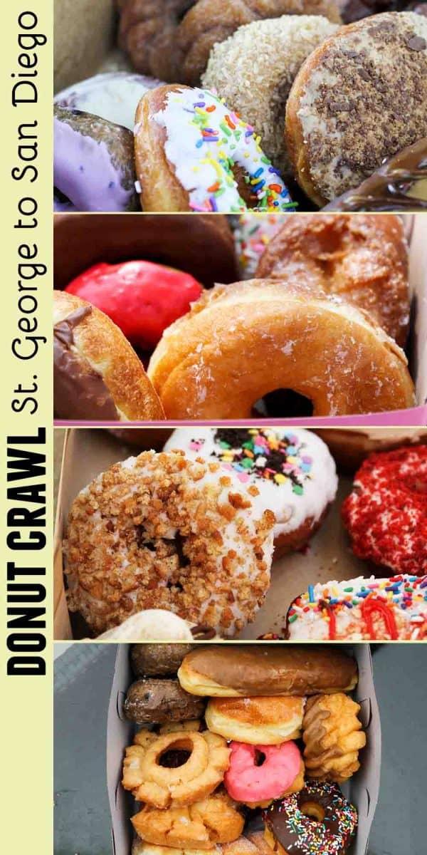 Donut Crawl - St George to San Diego