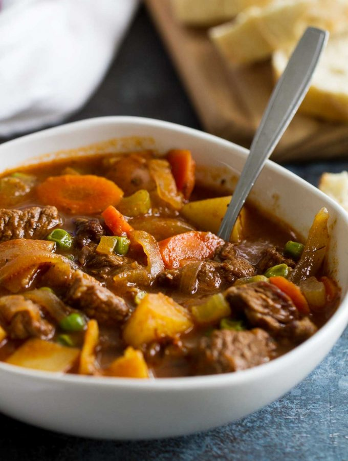 Classic Homemade Beef Stew Recipe