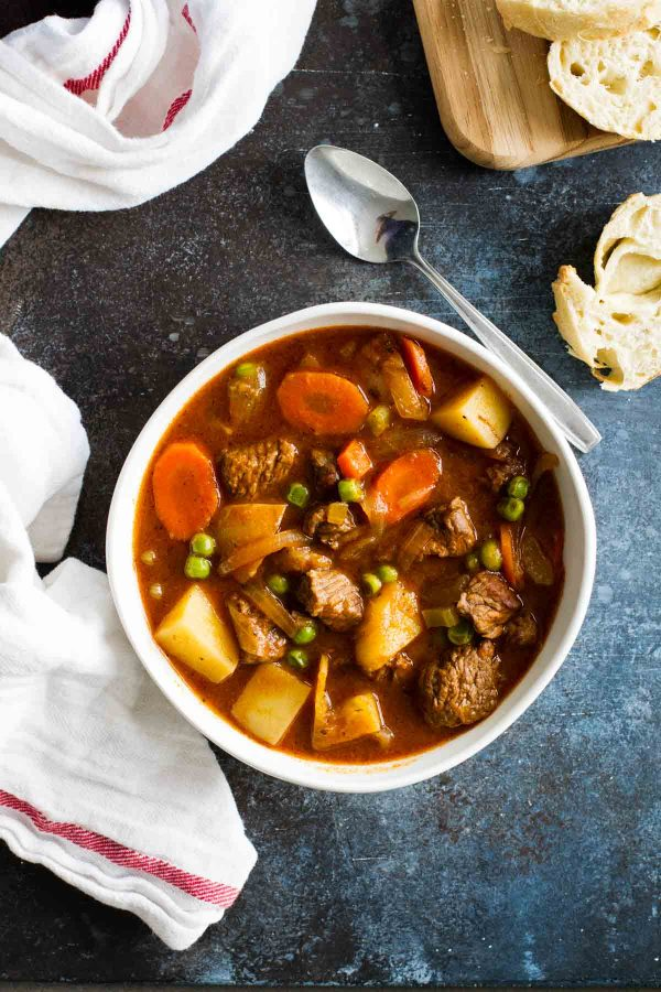 Recipe for Classic Homemade Beef Stew