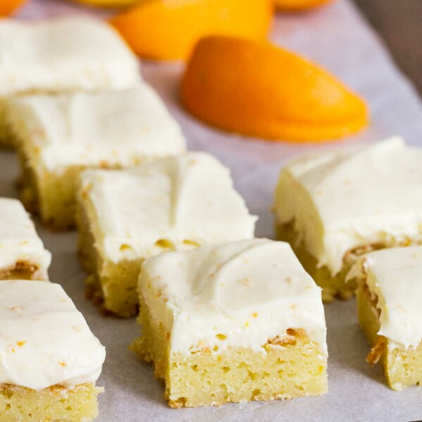 Batch of Orange Blondies